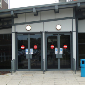 Kawneer Door Systems, East Anglia, Suffolk, Essex
