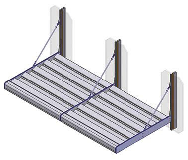 aa 130 brise soliel system kawneer jpj installations. Black Bedroom Furniture Sets. Home Design Ideas