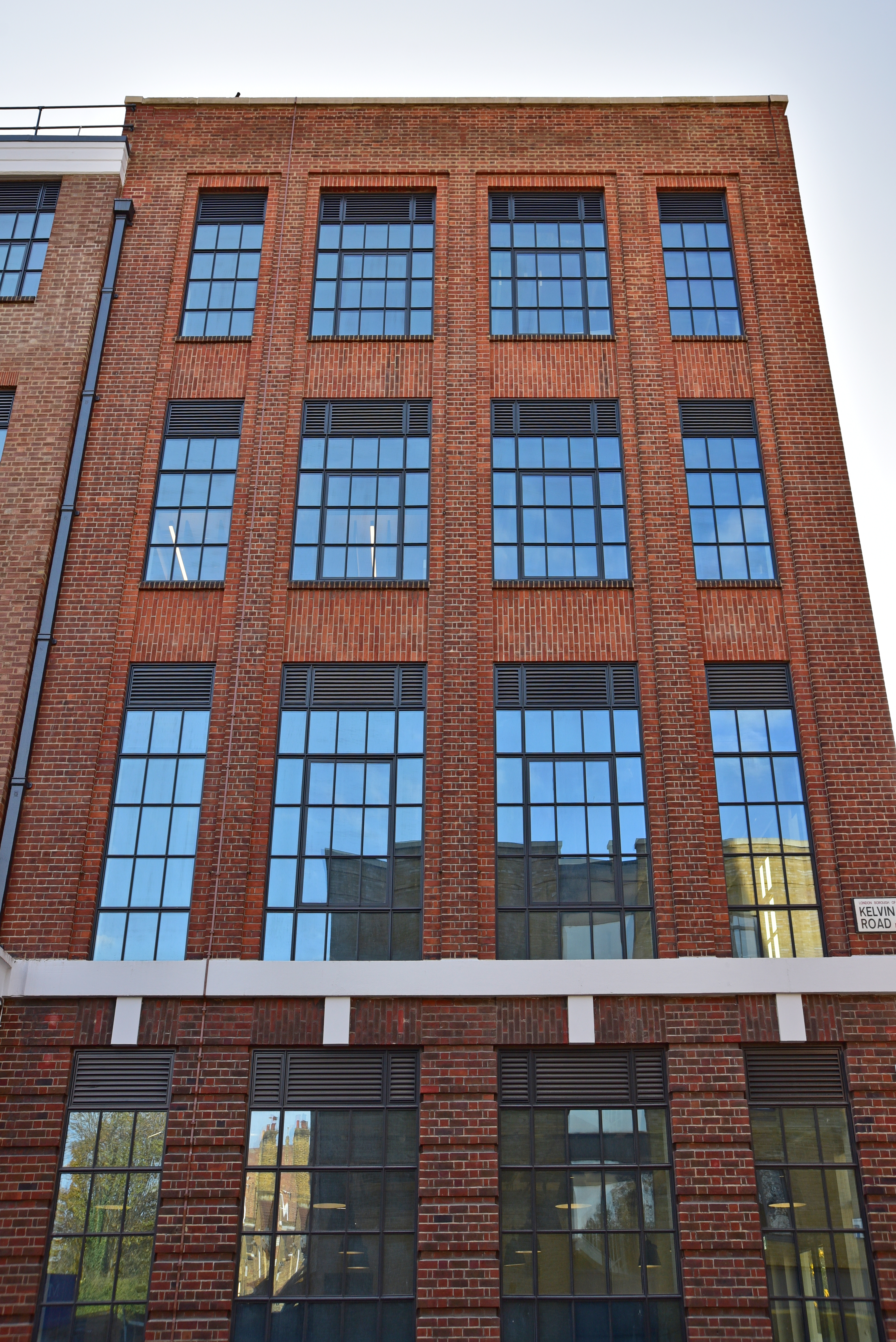 Facade, Building Envelope, Advanced Ventilation Systems, Front Elevation Construction Photography,